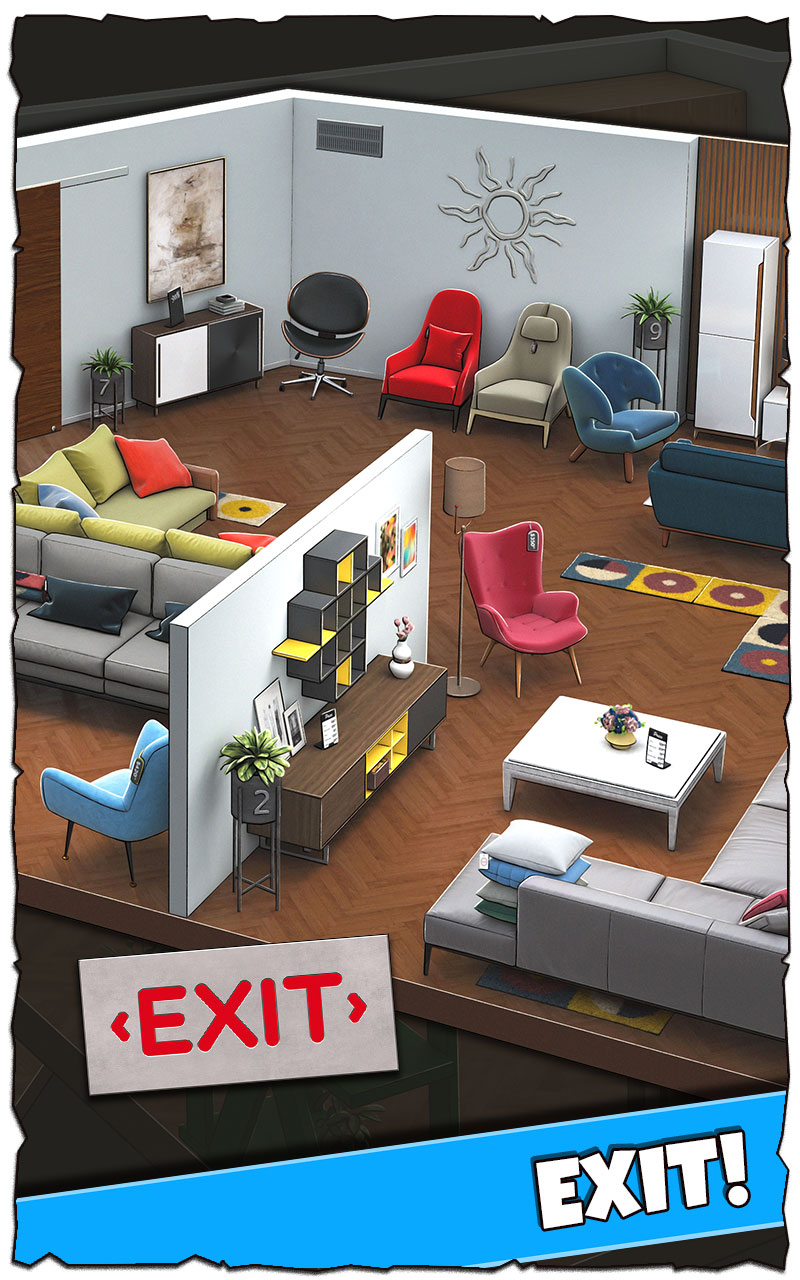 Rooms and Exits